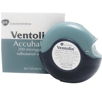 Ventolin Pulverinhalatoren (Accuhaler)