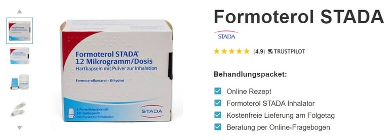 Formoterol online